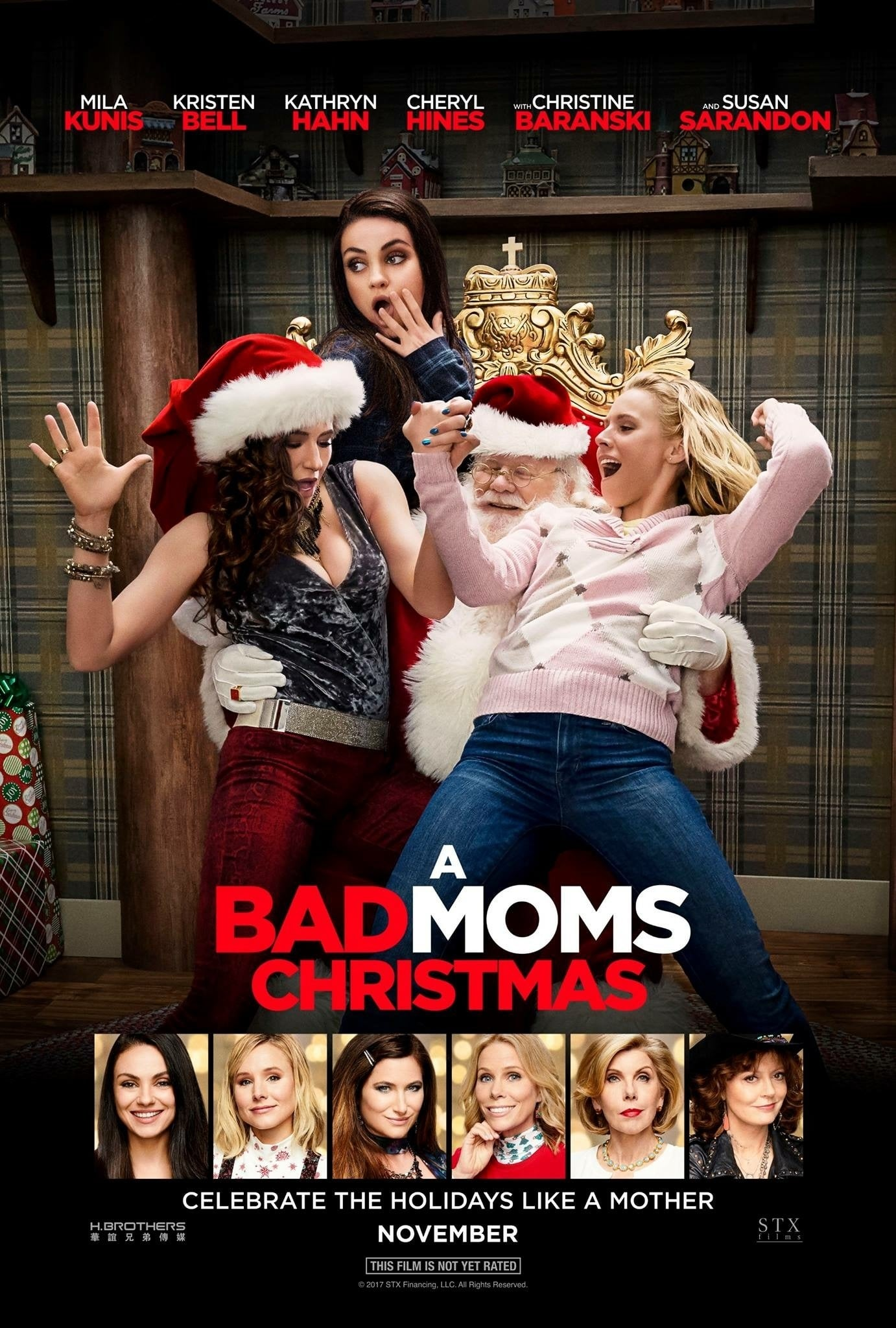 Poster and image movie Film A Bad Moms Christmas - A Bad Moms Christmas - A Bad Moms Christmas -  2017