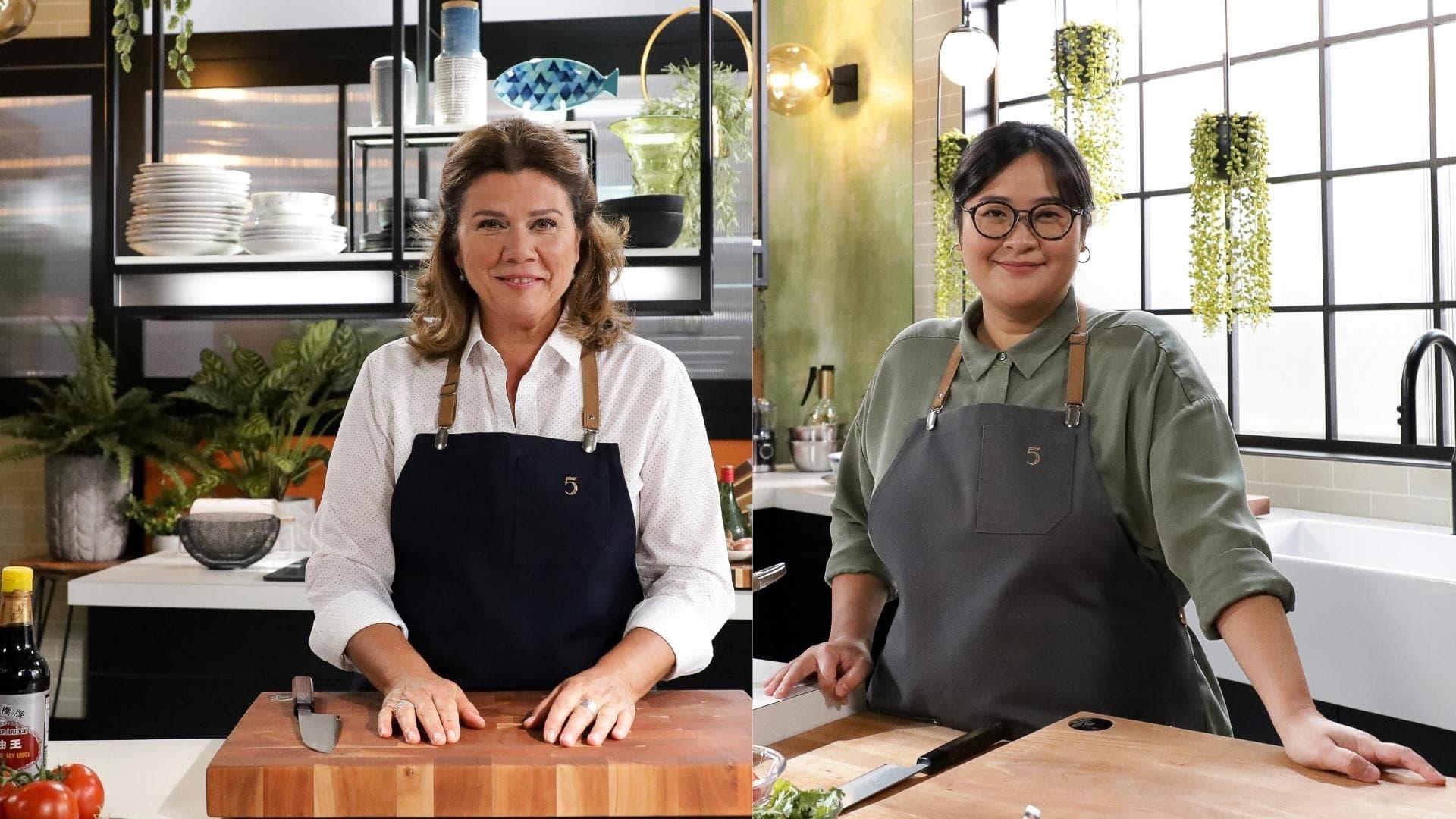 5 chefs dans ma cuisine Season 1 :Episode 4  Episode 4