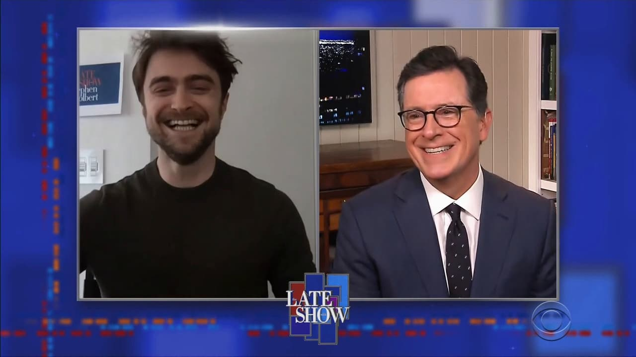 The Late Show with Stephen Colbert Season 5 :Episode 106  Daniel Radcliffe / Jonathan Karl