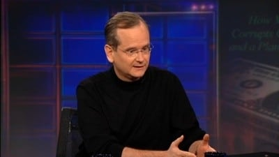 The Daily Show with Trevor Noah Season 17 :Episode 34  Lawrence Lessig