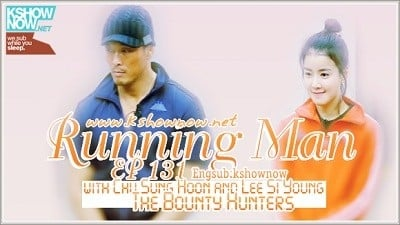 Running Man Season 1 :Episode 131  The Bounty Hunters