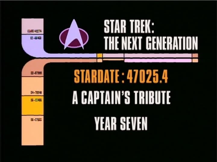 Archival Mission Log: Year Seven - A Captain's Tribute-Azwaad Movie Database