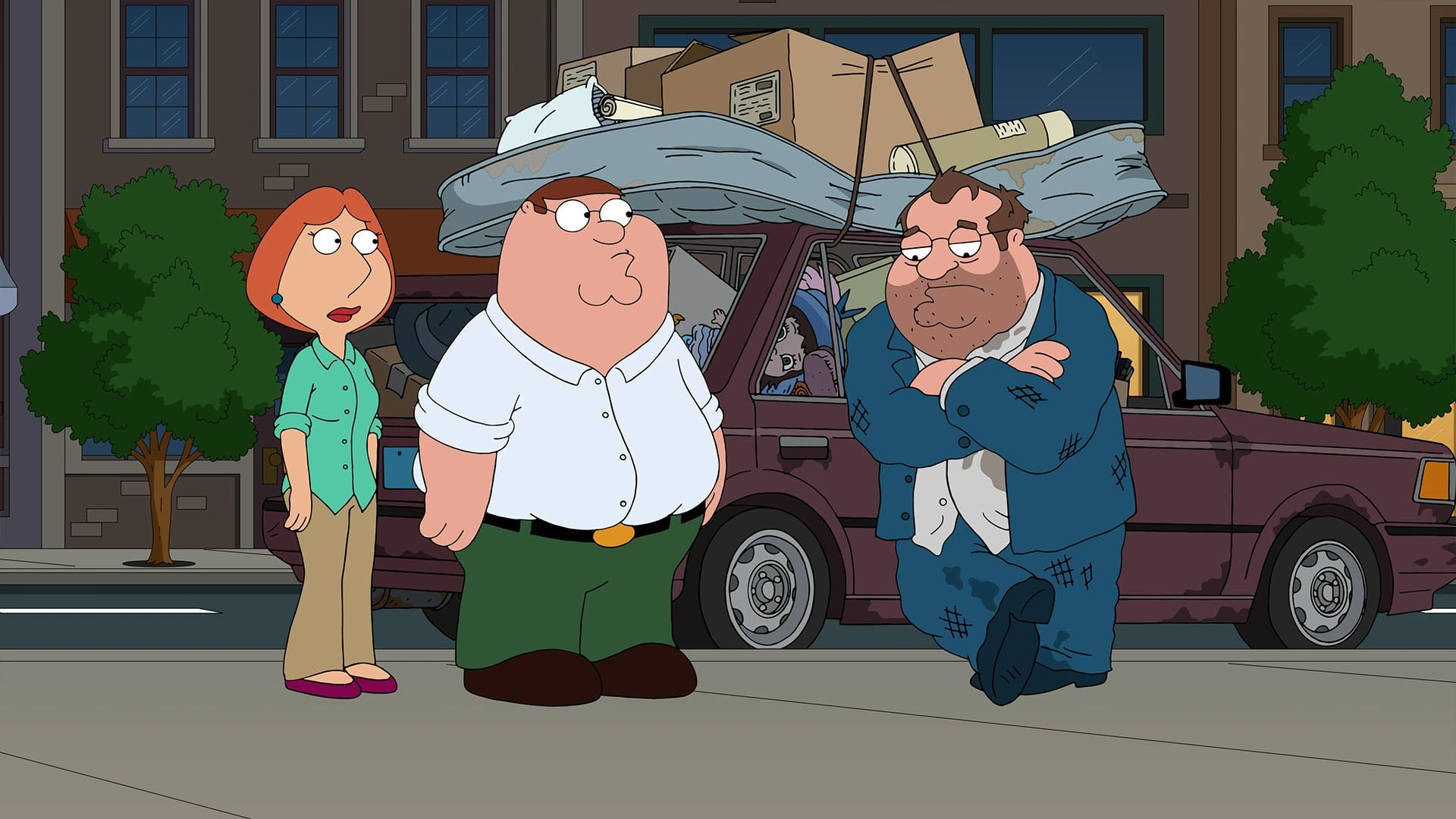 Family Guy Season 18 :Episode 20  Movin' In (Principal Shepherd's Song)