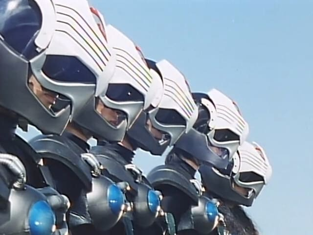 Super Sentai Season 15 :Episode 40  Command! Change the Sentai
