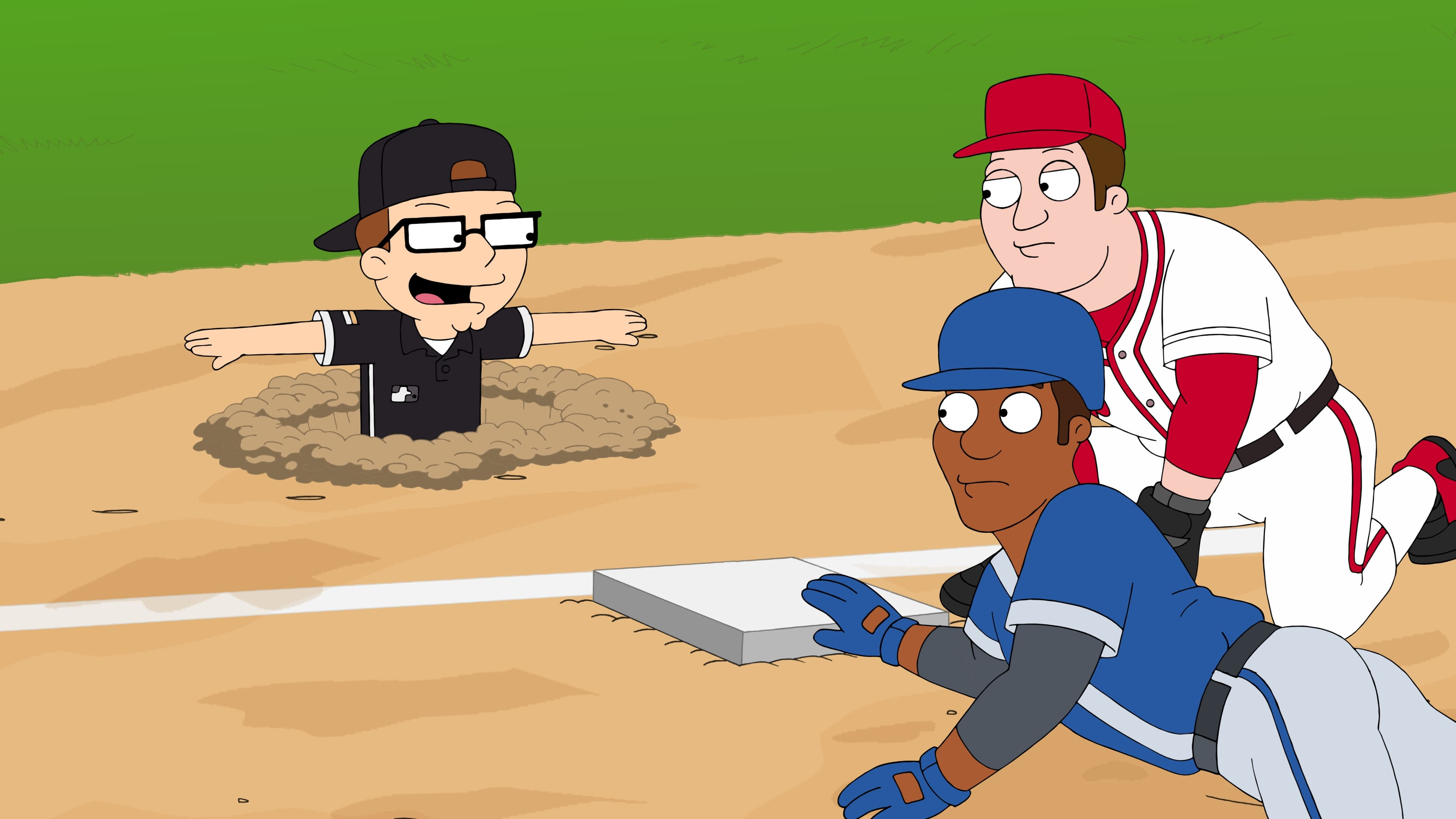 American Dad! Season 16 :Episode 1  Fantasy Baseball