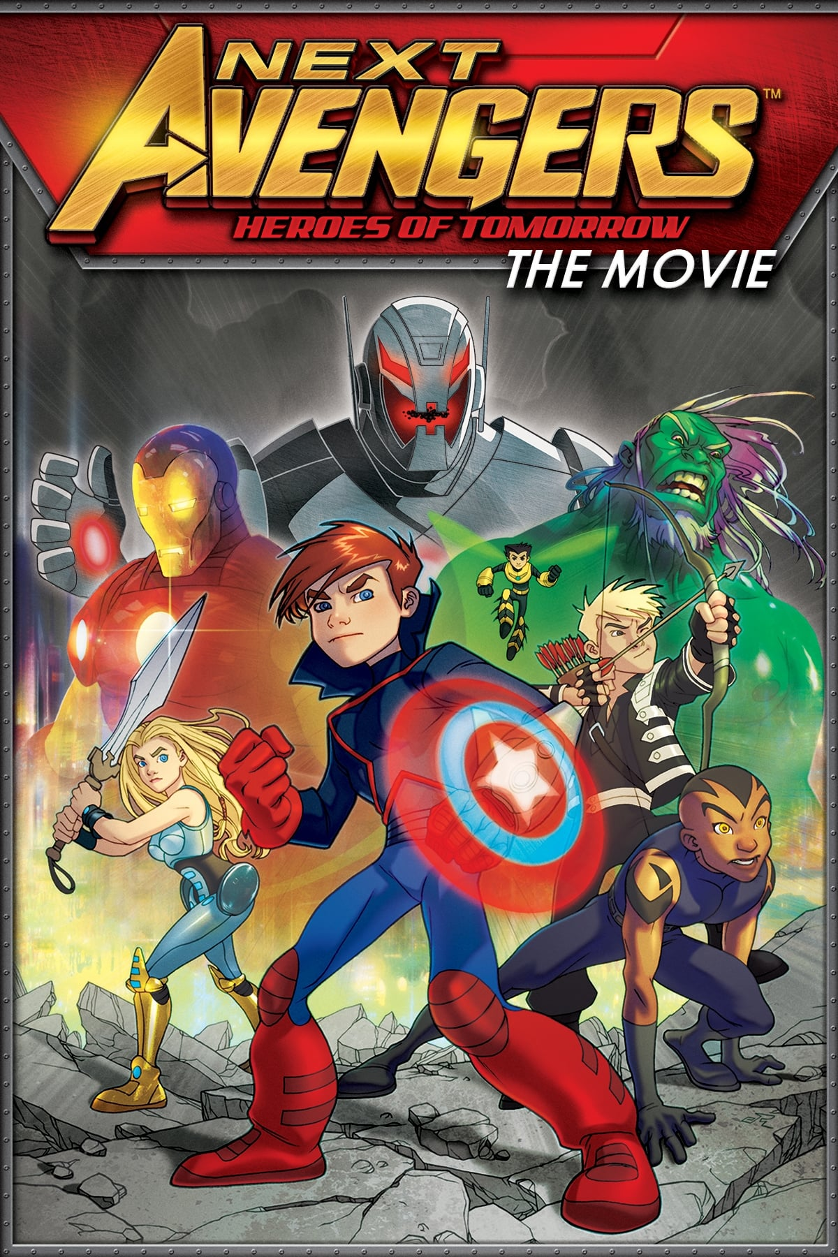 Next avengers heroes of tomorrow 2008 the movie - Heros avengers ...