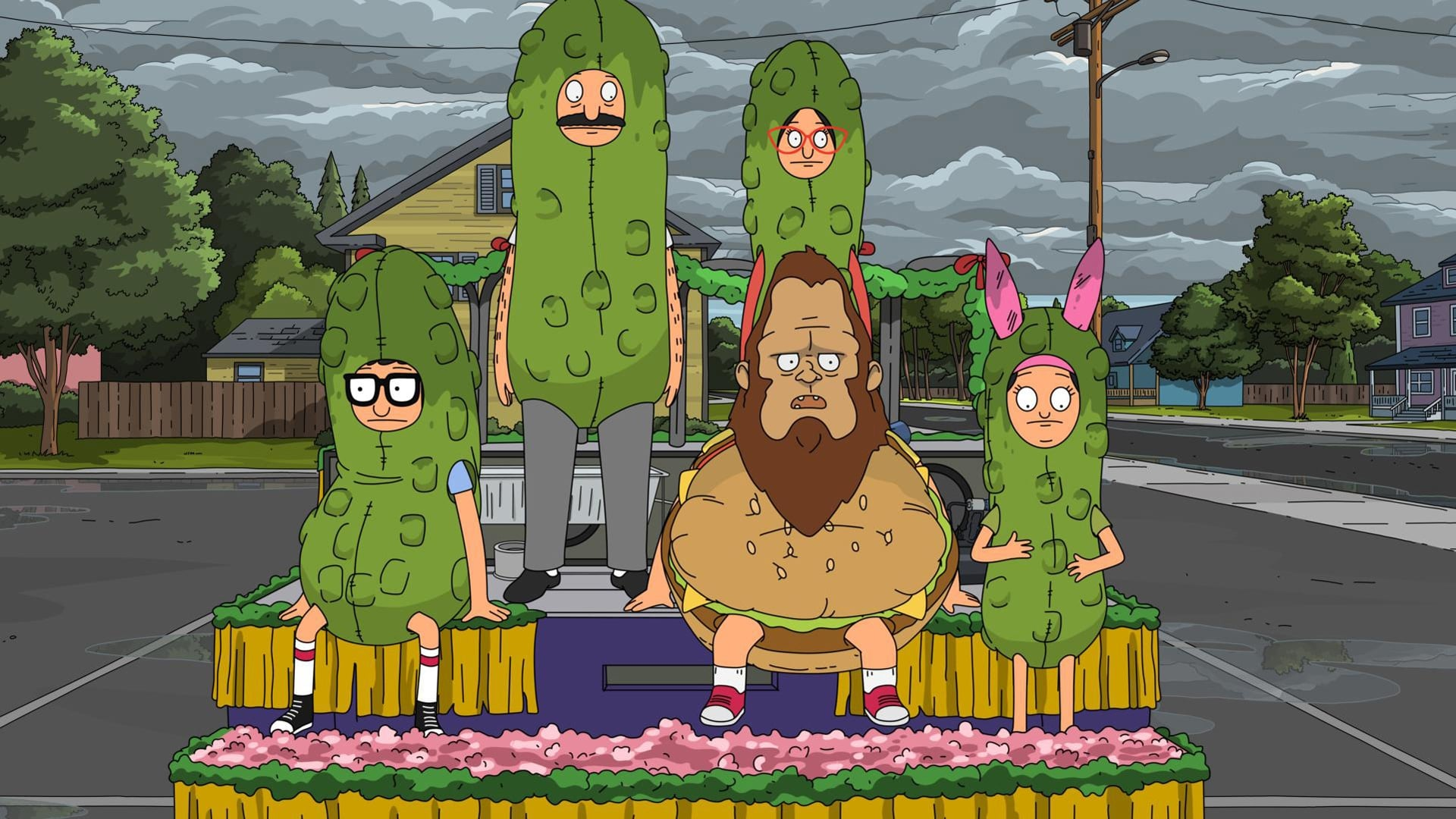 Bob's Burgers - Season 7 Episode 21 : Paraders of the Lost Float