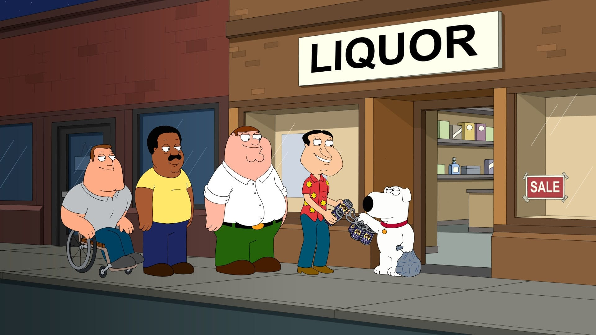 Family Guy Season 14 :Episode 14  Der minderjährige Peter