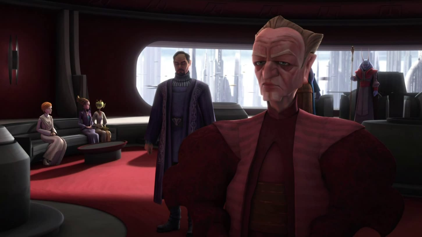 Star Wars: The Clone Wars Season 2 :Episode 15  Senate Murders