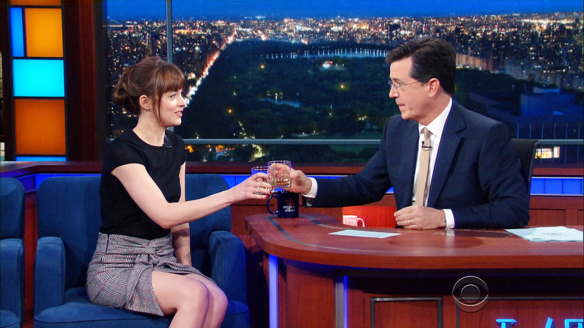 The Late Show with Stephen Colbert Season 1 :Episode 134  Dakota Johnson, Sebastian Stan, Lukas Nelson & Promise of the Real