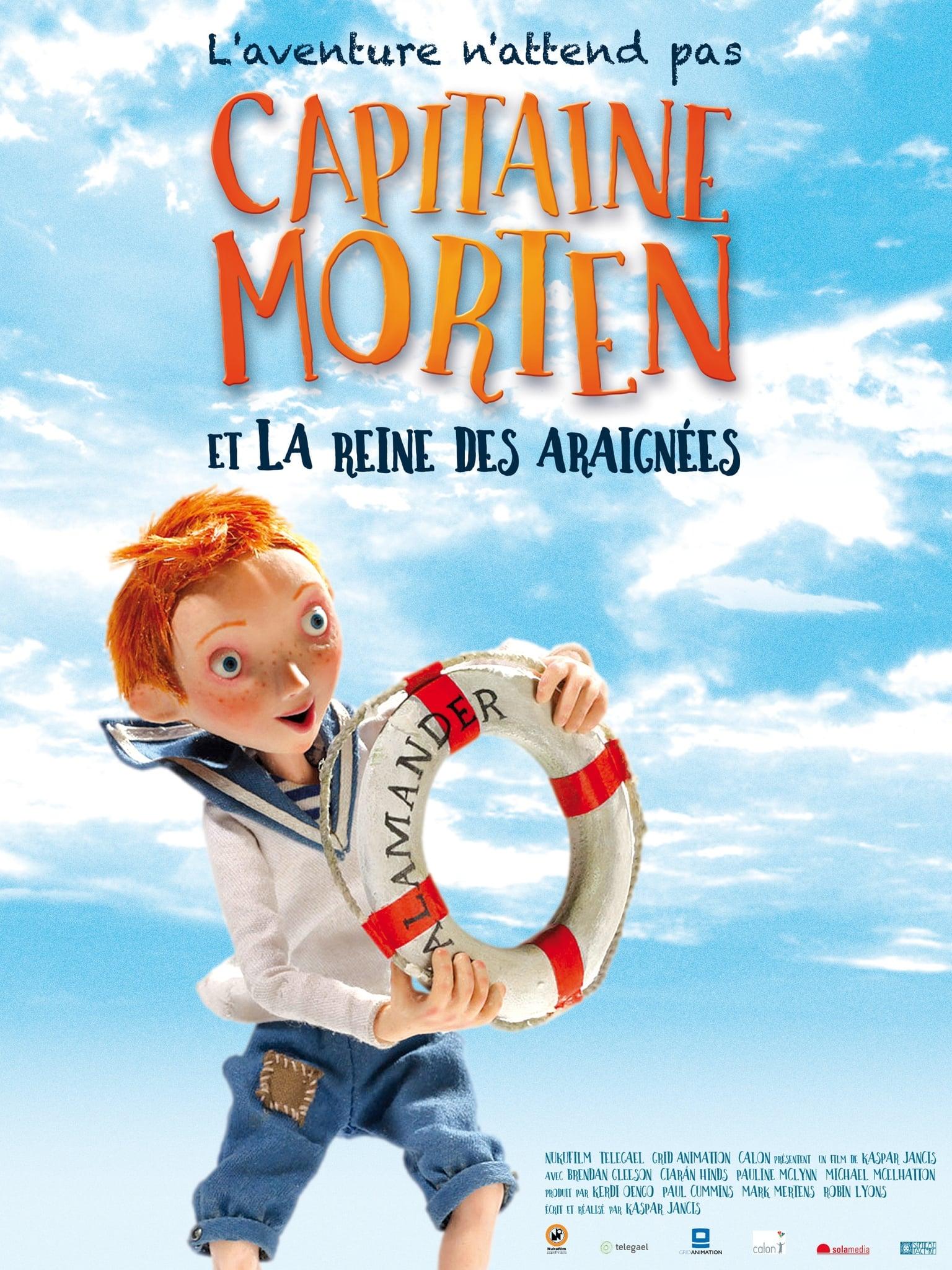 Capitaine Morten et la reine des araignées streaming
