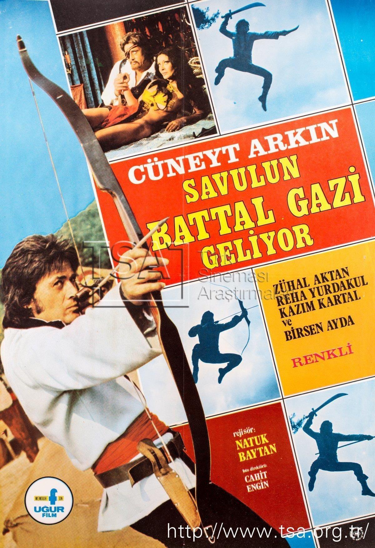 Ver Savulun Battal Gazi Geliyor Online HD Español (1973)
