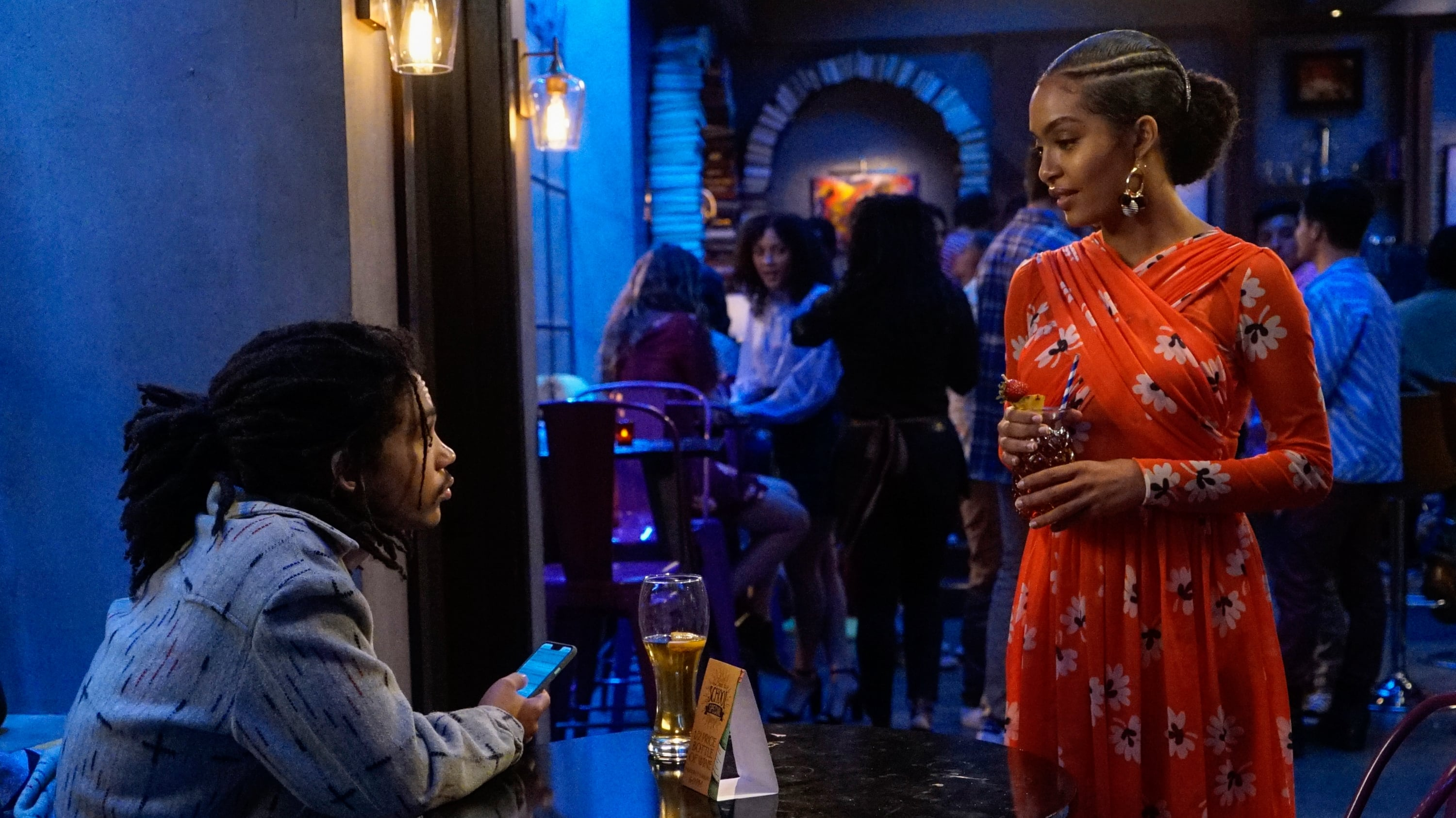Grownish Season 3 Episode 3 Luca and Zoey
