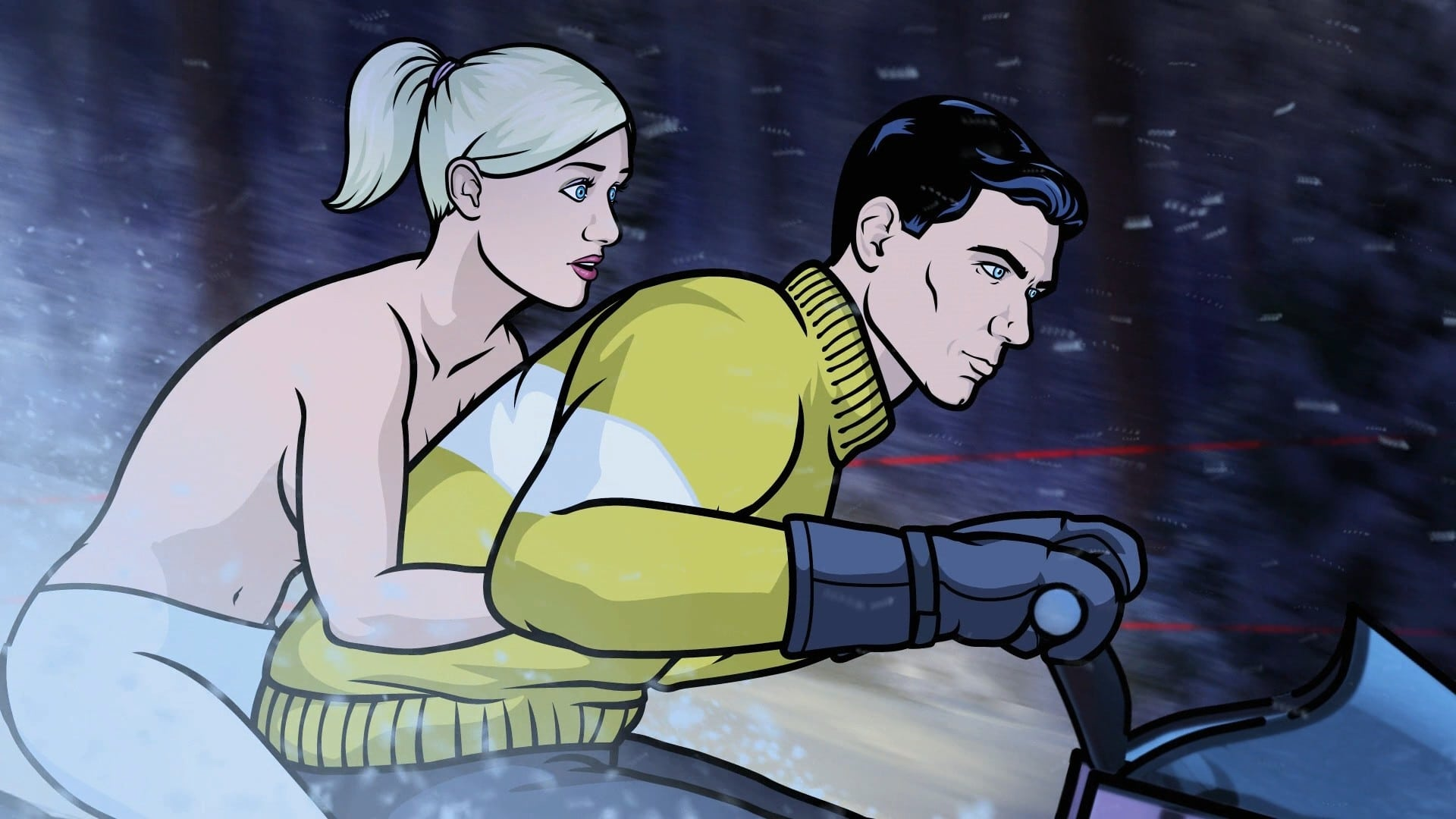 Archer Season 2 :Episode 1  Swiss Miss