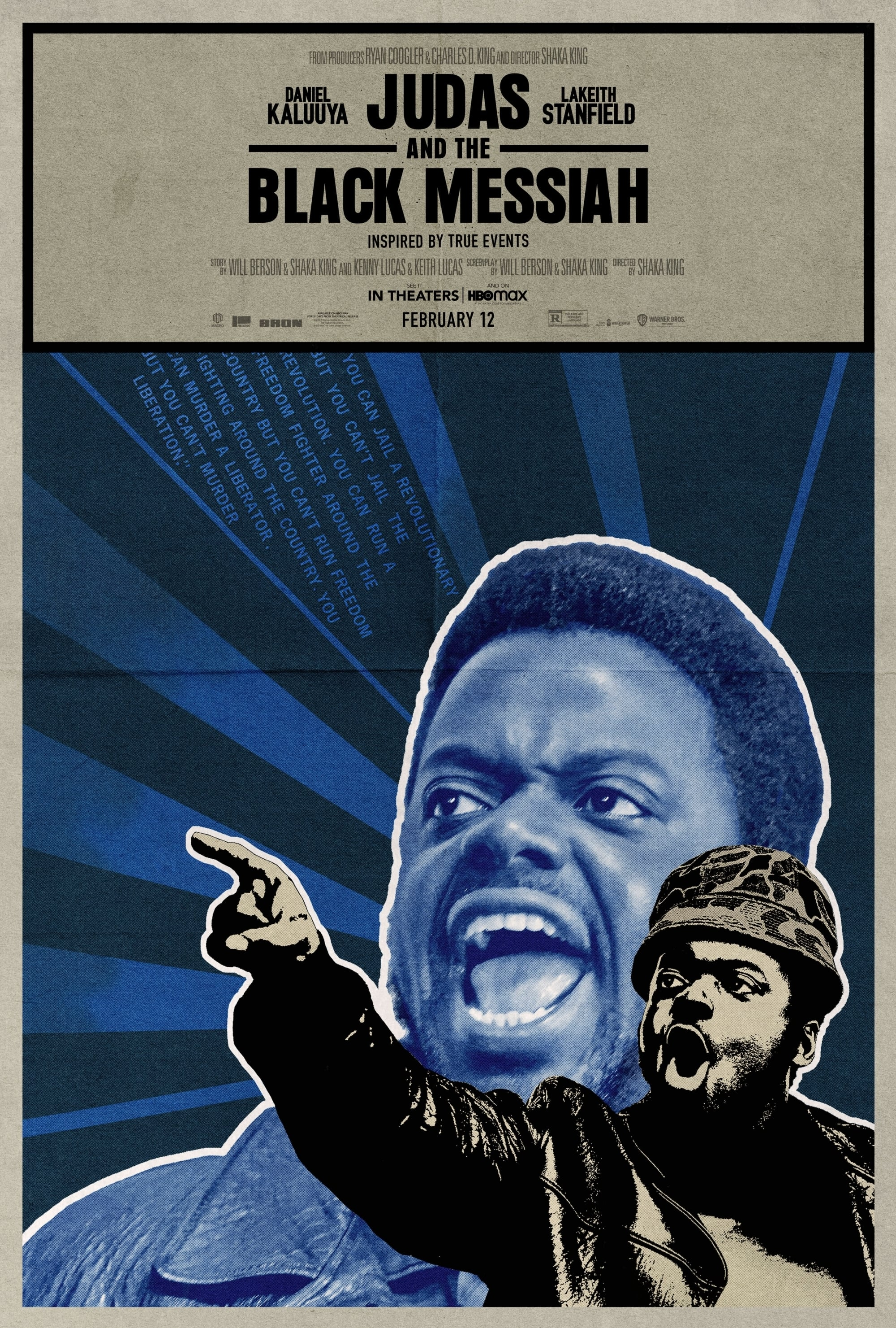Poster and image movie Judas and the Black Messiah