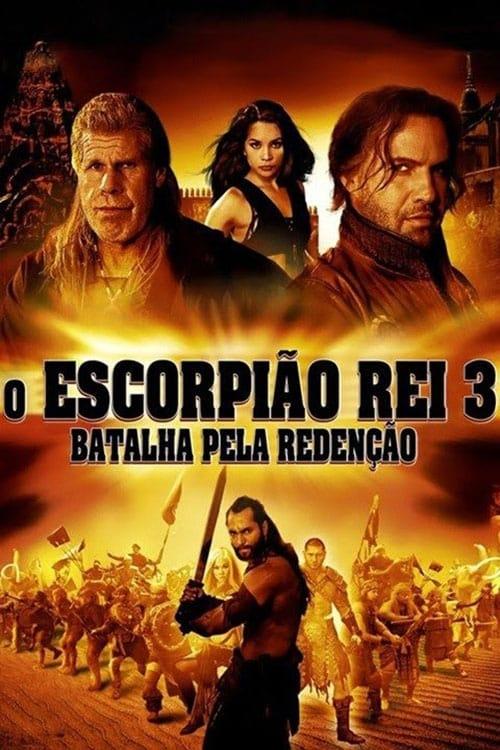 capa O Escorpião Rei 3 - Batalha pela Redenção