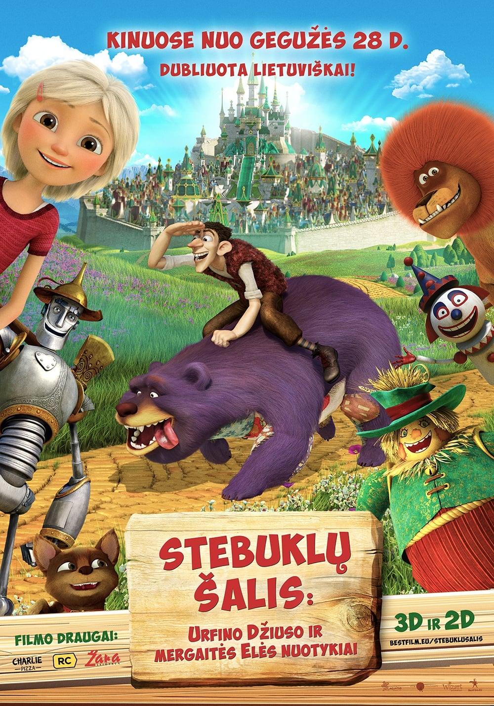STEBUKLŲ ŠALIS: Urfino Džiuso ir mergaitės Elės nuotykiai / Urfin and His Wooden Soldiers (2017)