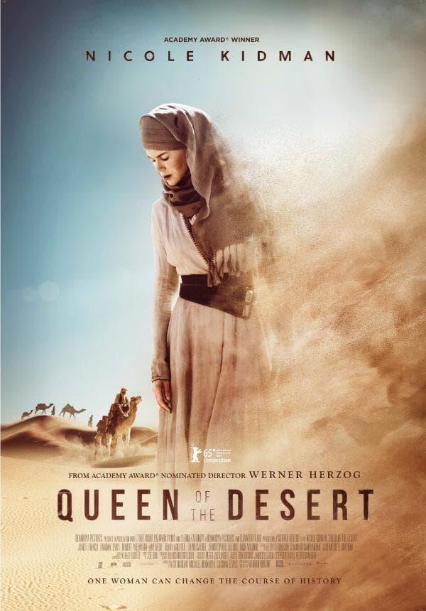 Plakat Königin der Wüste