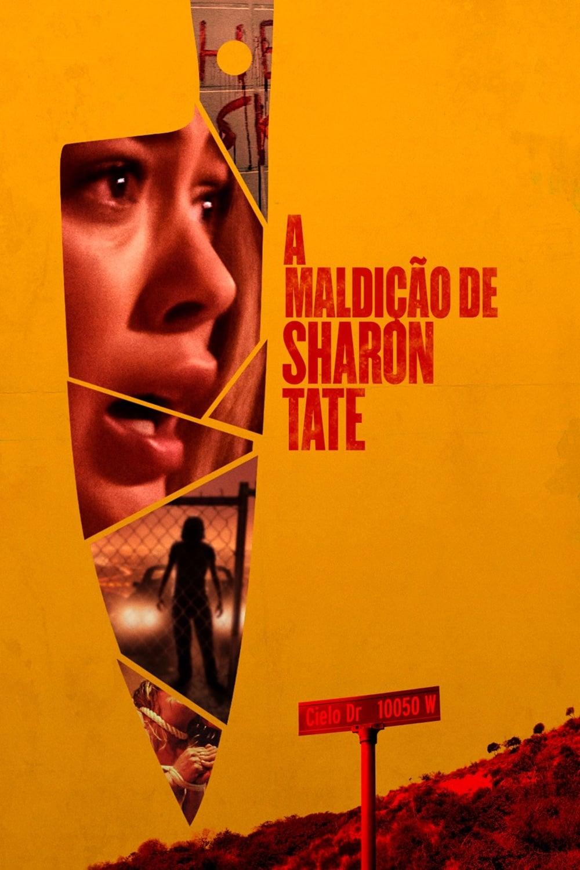 capa A Maldição de Sharon Tate
