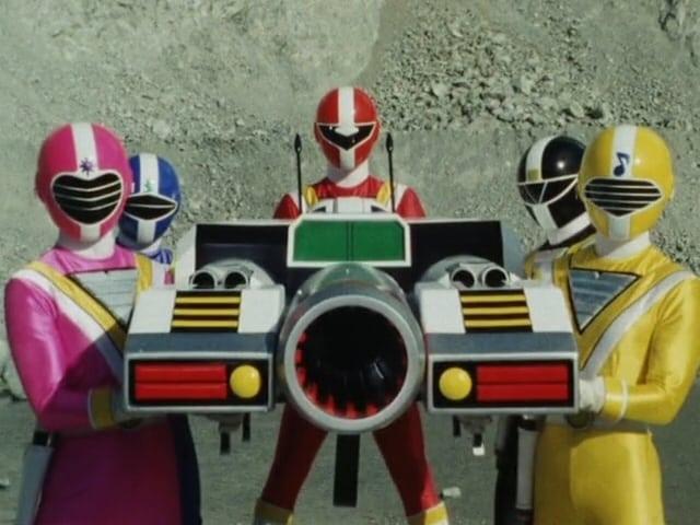 Super Sentai Season 14 :Episode 12  Arthur's Super Transformation