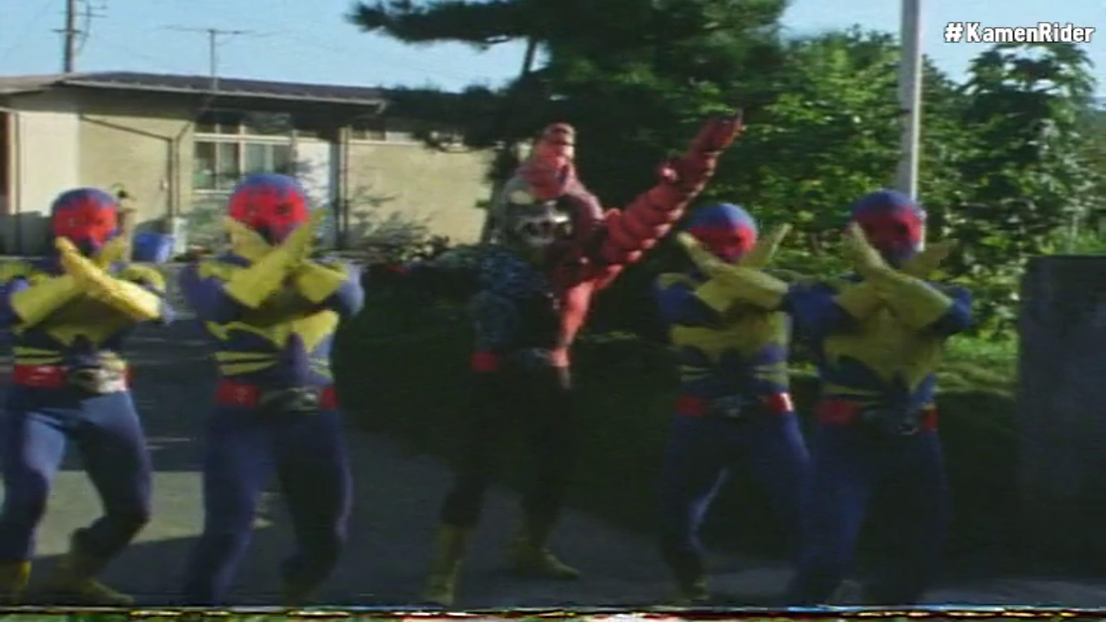 Kamen Rider Season 1 :Episode 81  Kamen Rider Dies Twice!