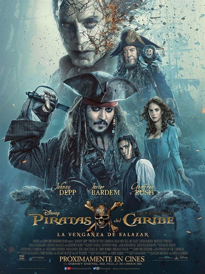 Póster Piratas del Caribe: La venganza de Salazar
