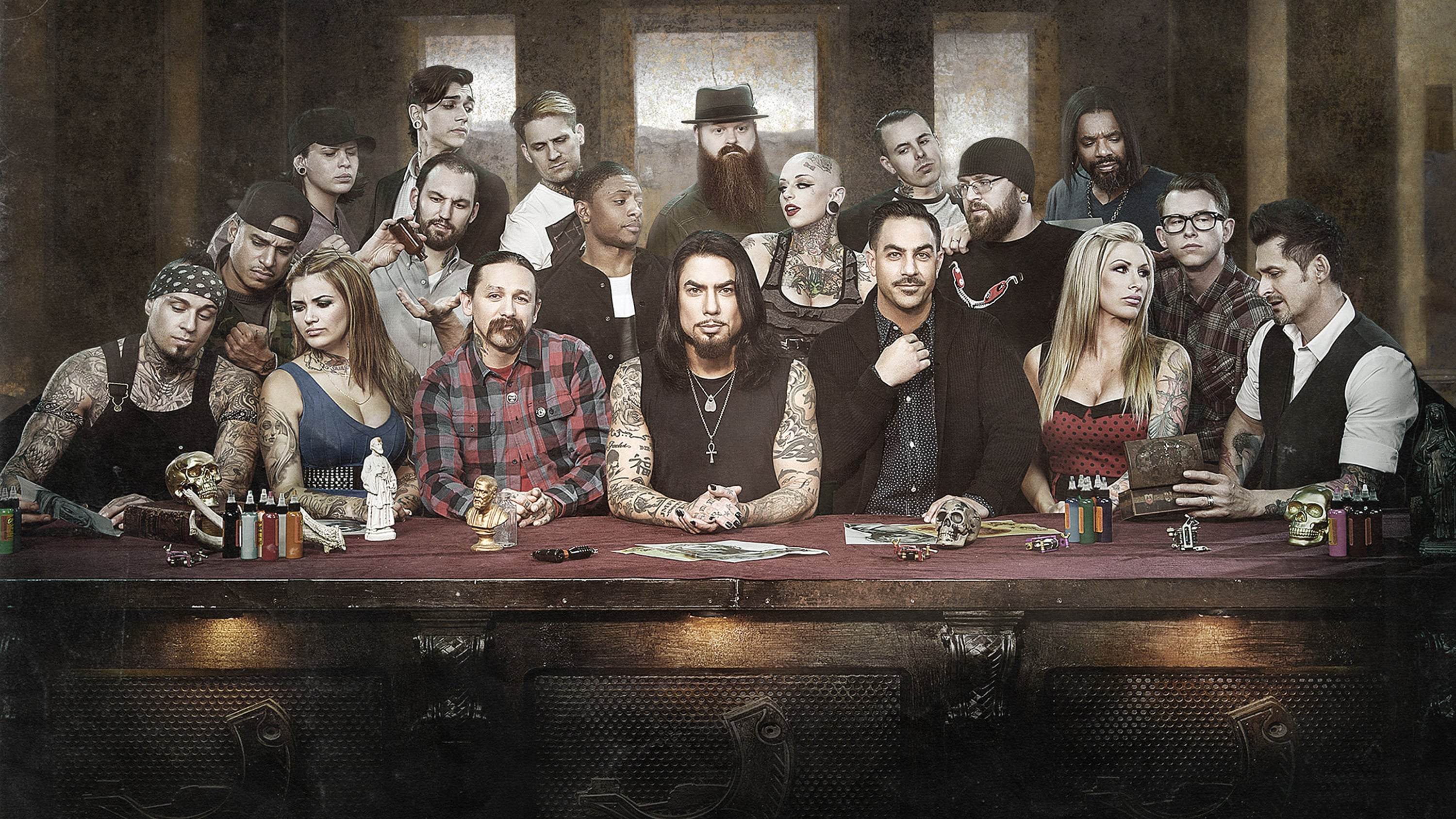Ink Master - Peck Vs. Nuñez