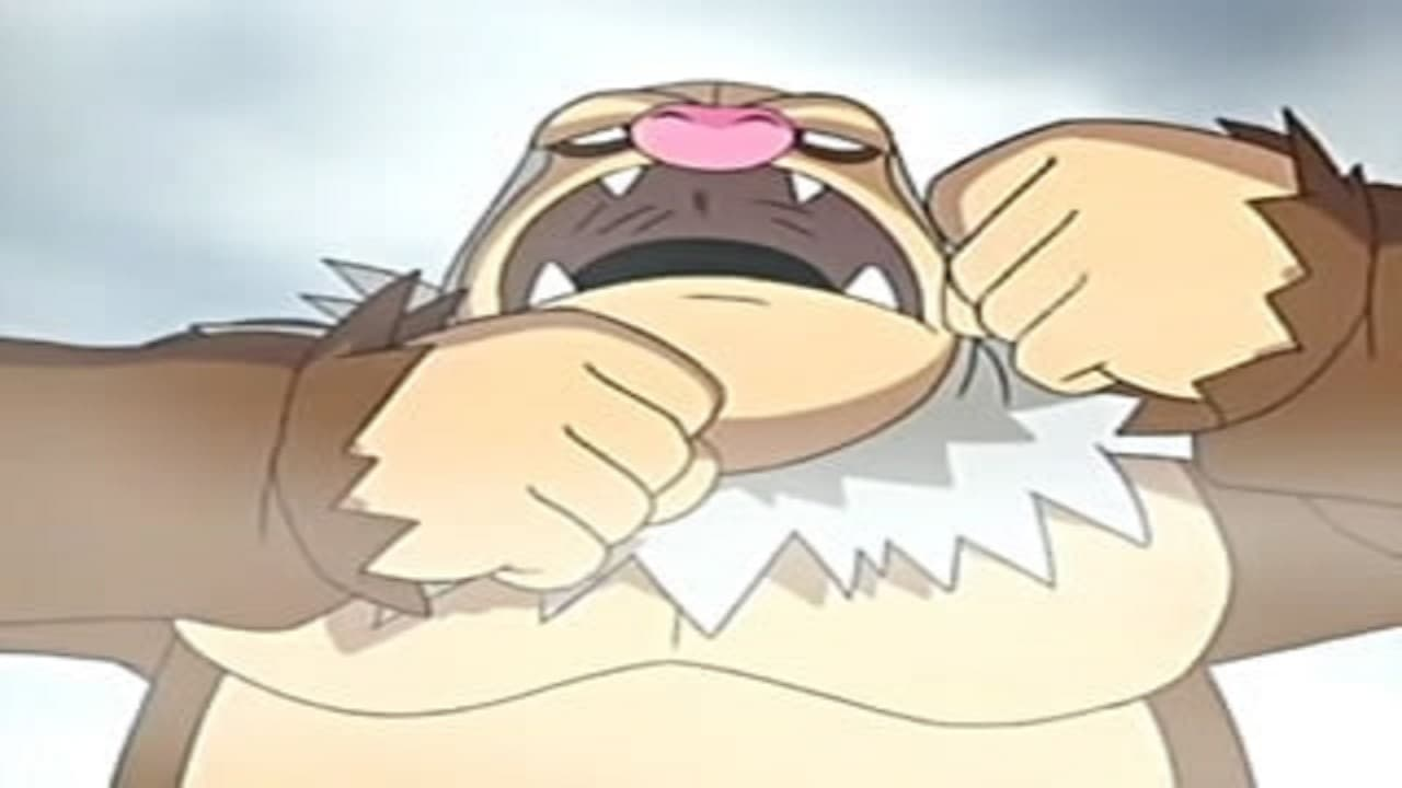 Pokémon Season 9 :Episode 32  Slaking Kong!