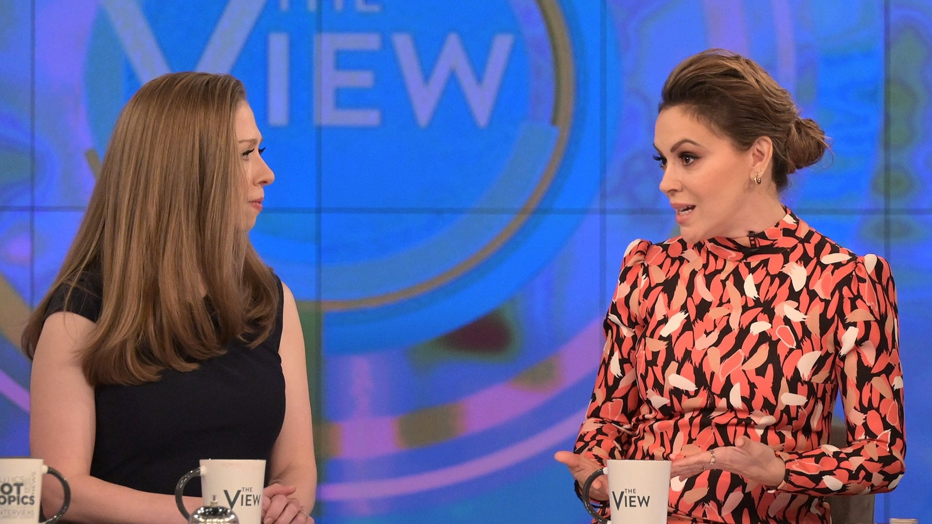 The View Season 23 :Episode 32  Alyssa Milano and Chelsea Clinton