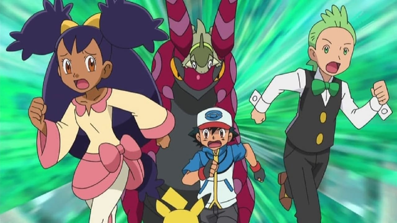 Pokémon Season 14 :Episode 9  The Bloom Is on Axew!