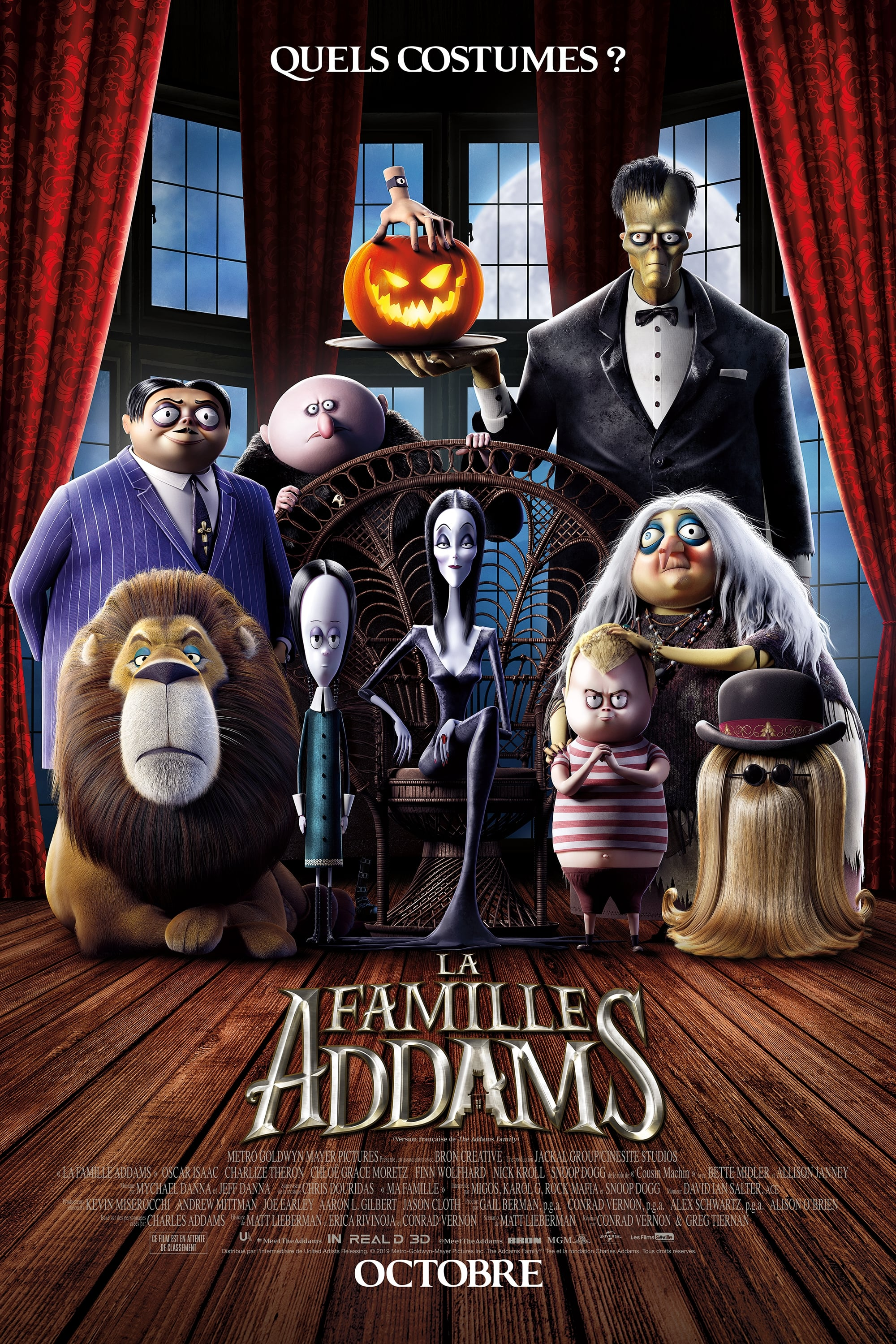 La Famille Addams streaming sur zone telechargement
