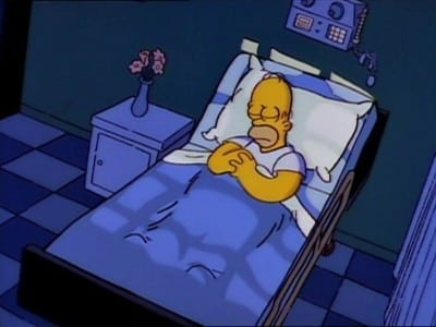 The Simpsons Season 4 :Episode 11  Homer's Triple Bypass