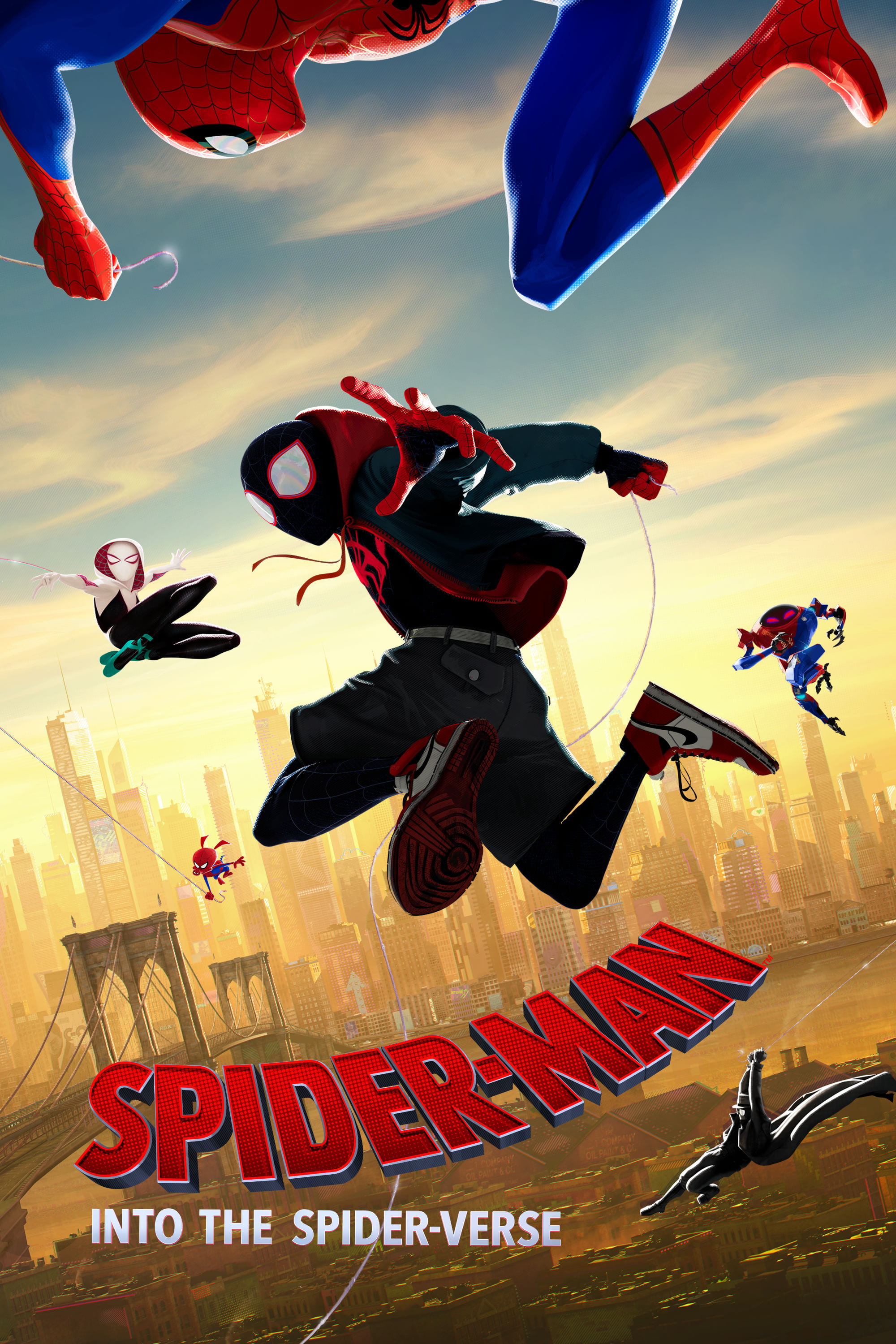 Poster and image movie Film Spider-Man: Into the Spider-Verse 2018