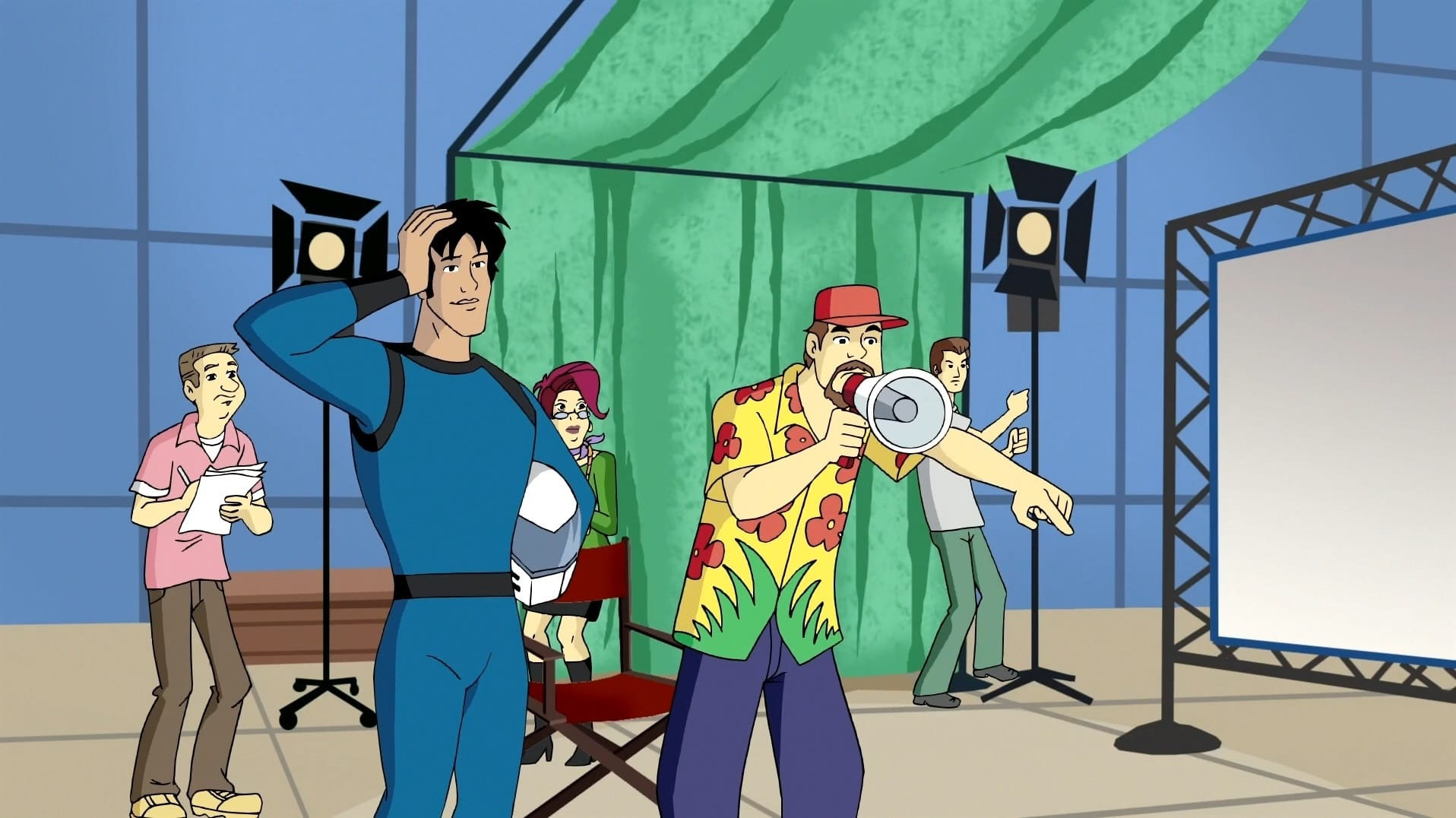 What's New, Scooby-Doo? Season 1 :Episode 12  Lights! Camera! Mayhem!
