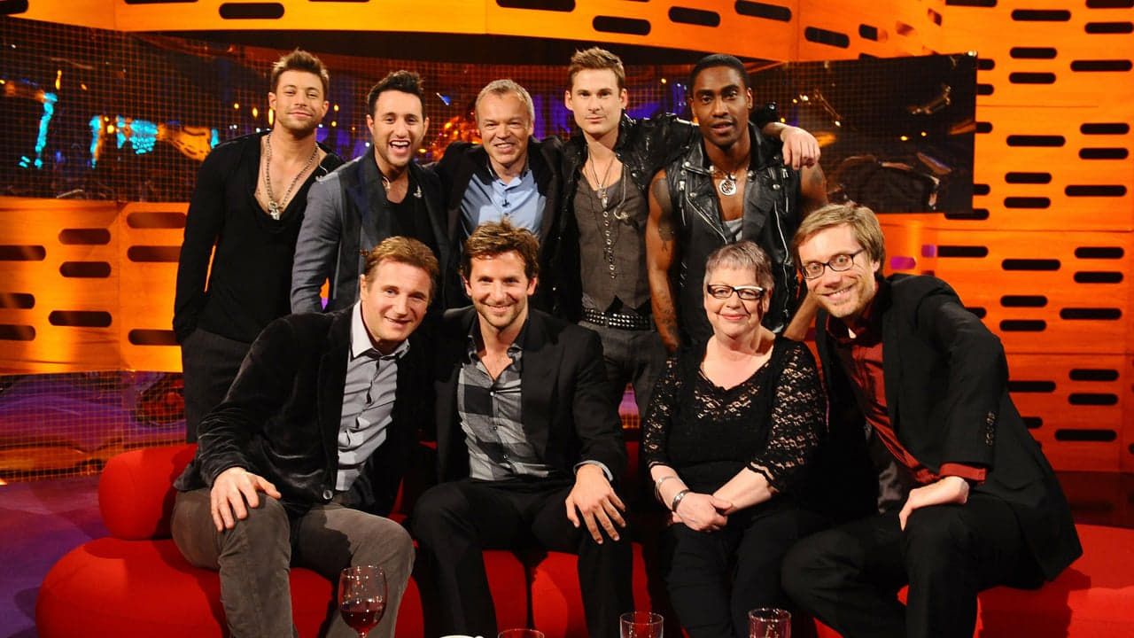 The Graham Norton Show Season 8 :Episode 19  Liam Neeson, Bradley Cooper, Stephen Merchant, Jo Brand, Blue