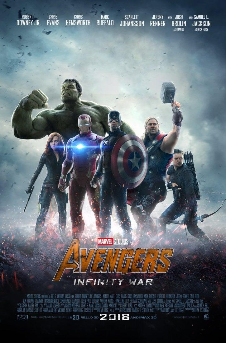 Poster and image movie Film Razbunatorii: Razboiul Infinitului - Răzbunătorii: Războiul infinitului - Avengers: Infinity War - Avengers: Infinity War -  2018