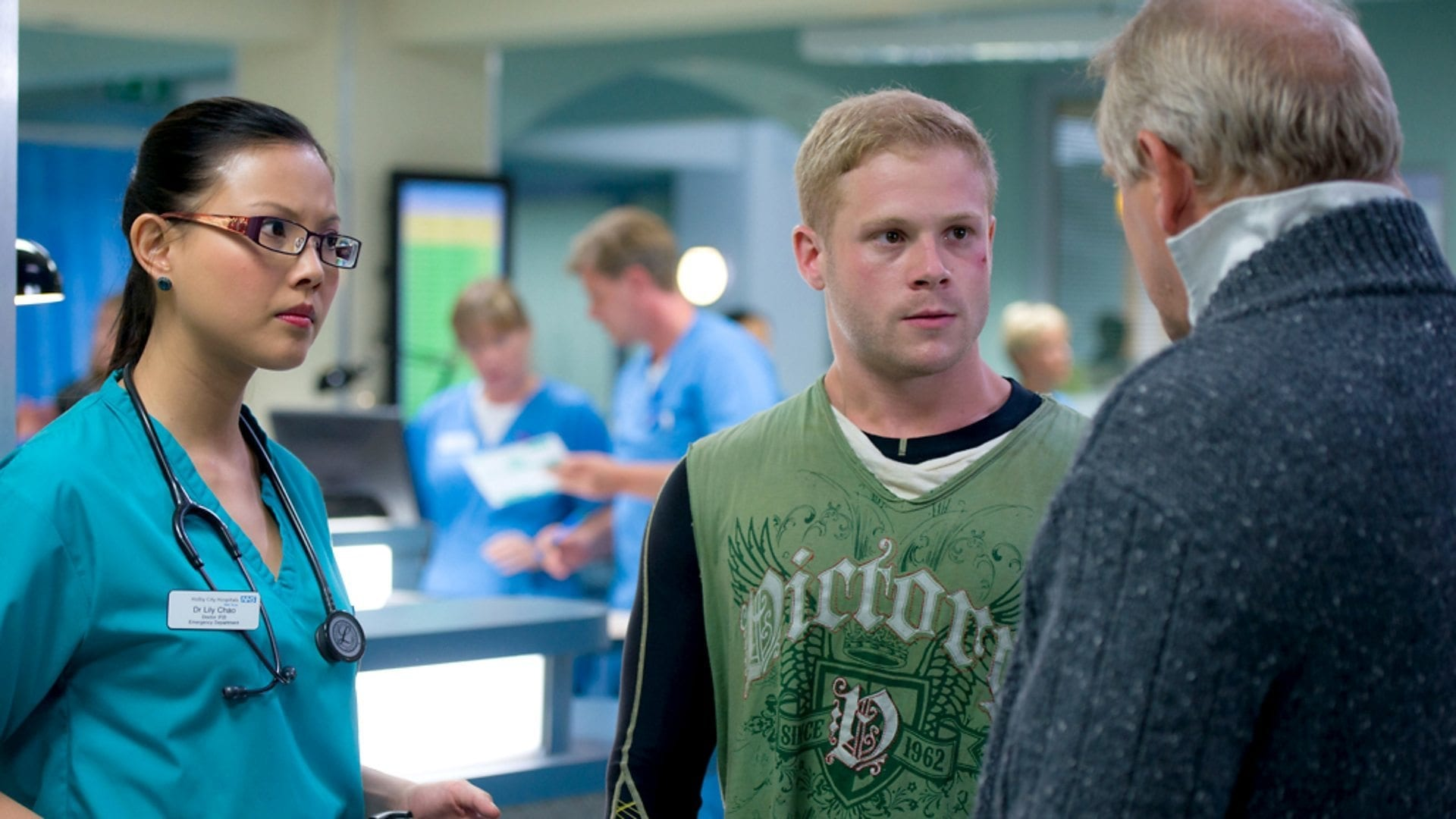 Casualty Season 28 :Episode 14  Rock and a Hard Place