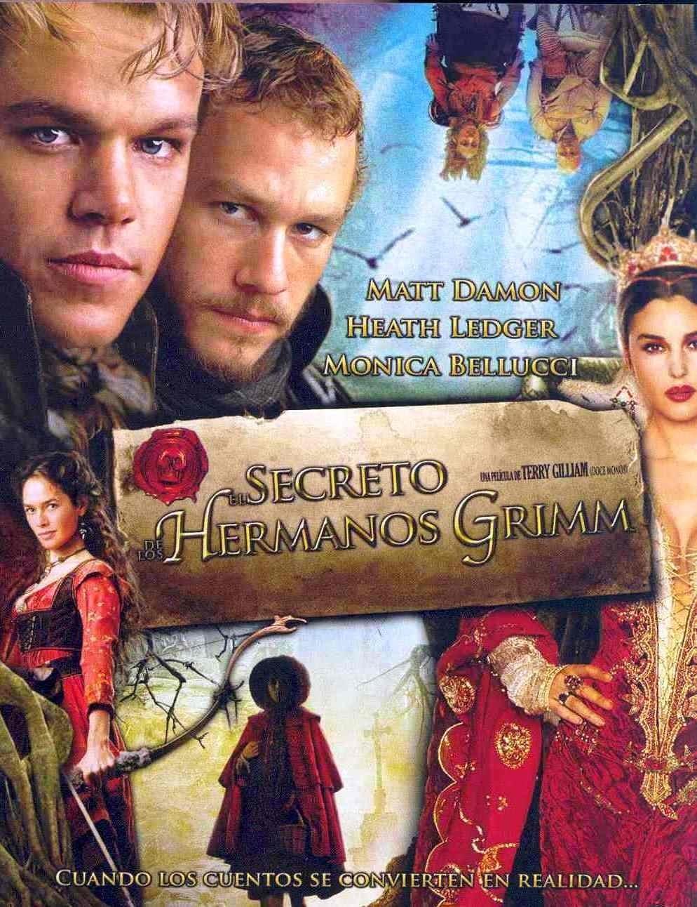 Ver El secreto de los hermanos Grimm Online HD Español (2005)