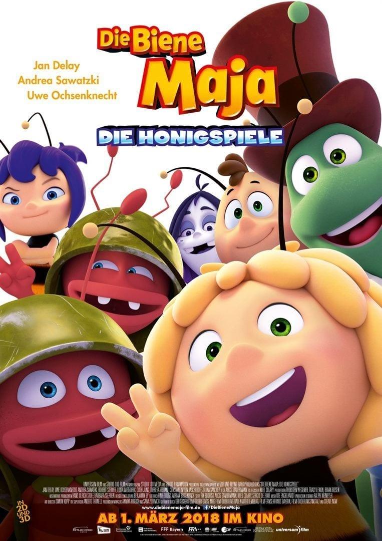 Ver Die Biene Maja – Die Honigspiele Online HD Español (2018)