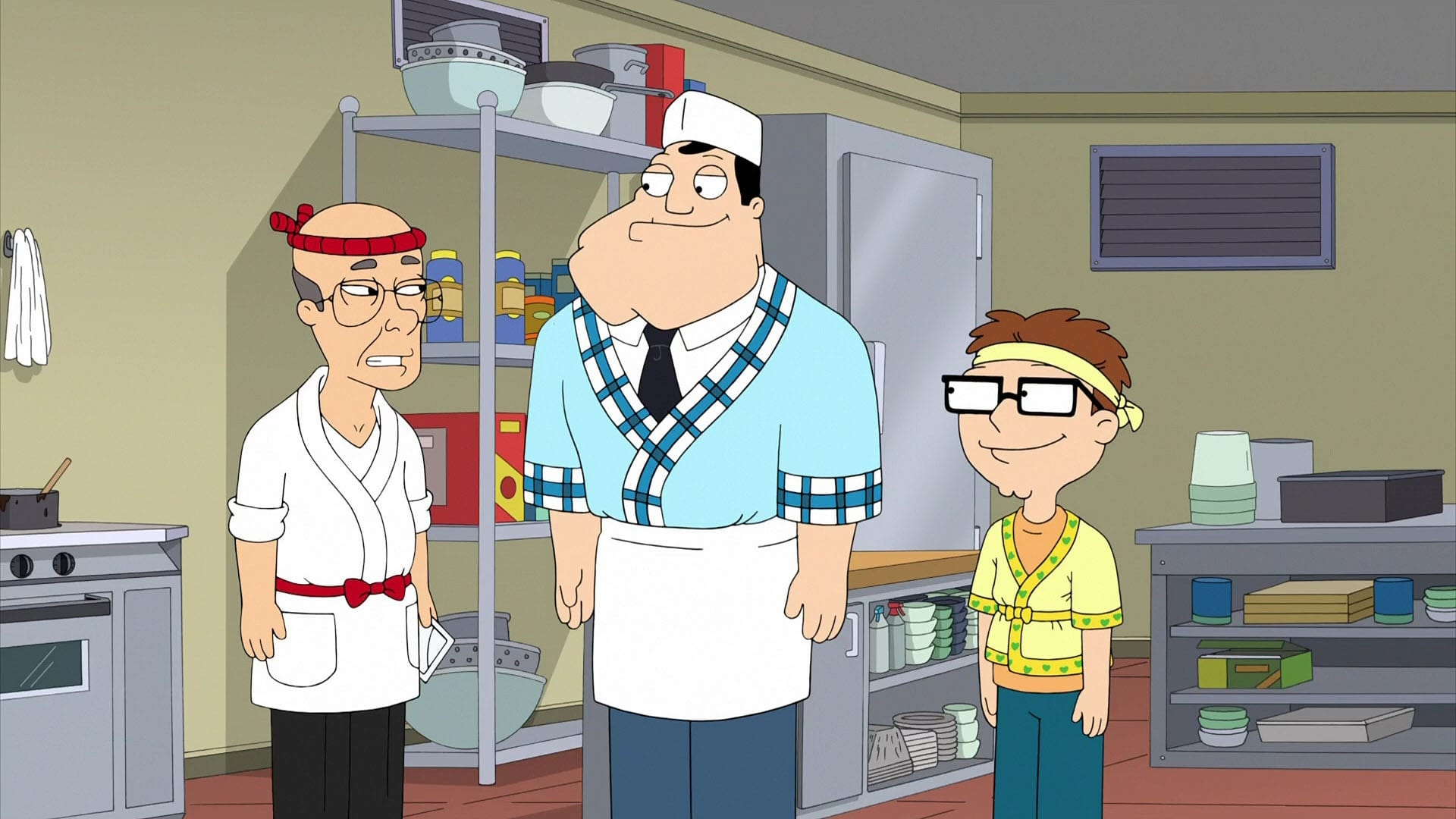 American Dad! Season 14 :Episode 3  The Enlightenment of Ragi-Baba