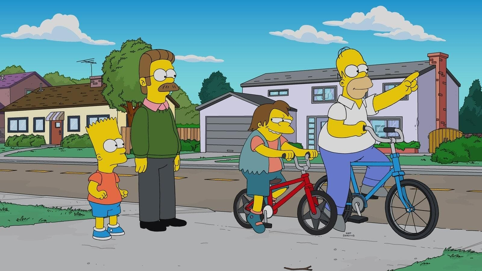 The Simpsons Season 31 :Episode 16  Better Off Ned