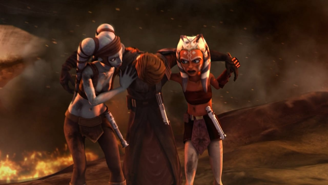 Star Wars: The Clone Wars Season 1 :Episode 13  Jedi Crash