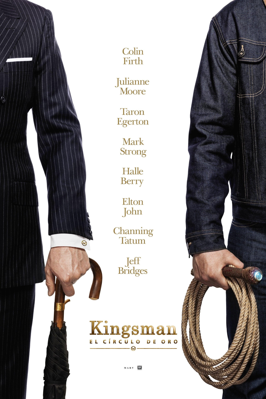 Póster Kingsman: El círculo de oro