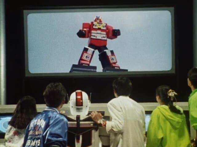 Super Sentai Season 14 :Episode 19  Red Brawling Robot