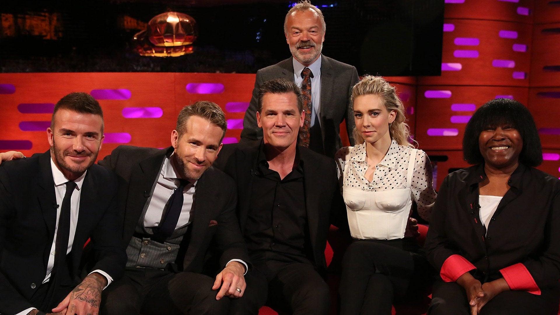 The Graham Norton Show Season 23 :Episode 6  Ryan Reynolds, Josh Brolin, David Beckham, Vanessa Kirby, Joan Armatrading
