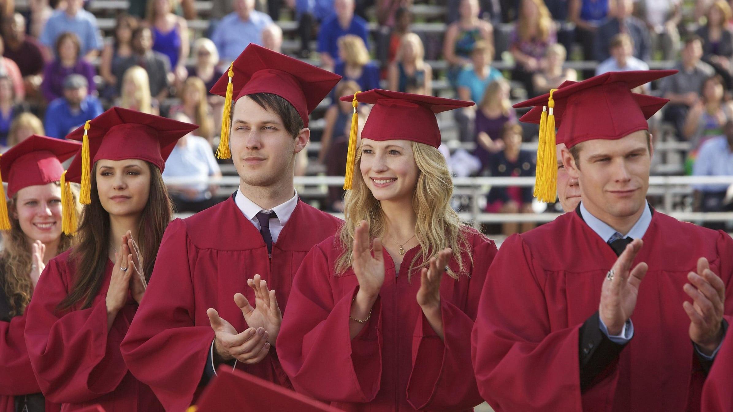 The Vampire Diaries Season 4 :Episode 23  Graduation
