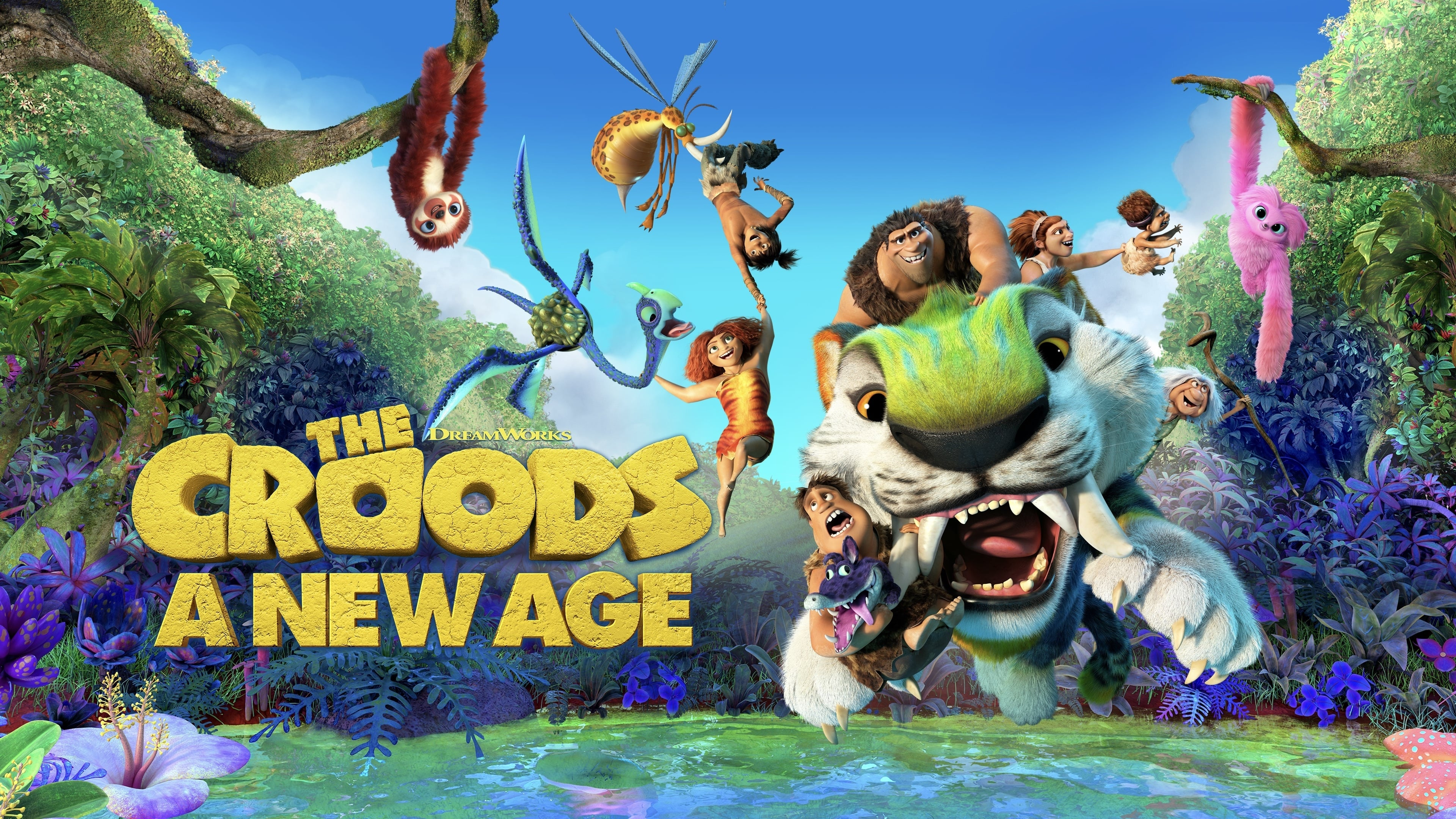 Backgrounds and walpapers The Croods: A New Age