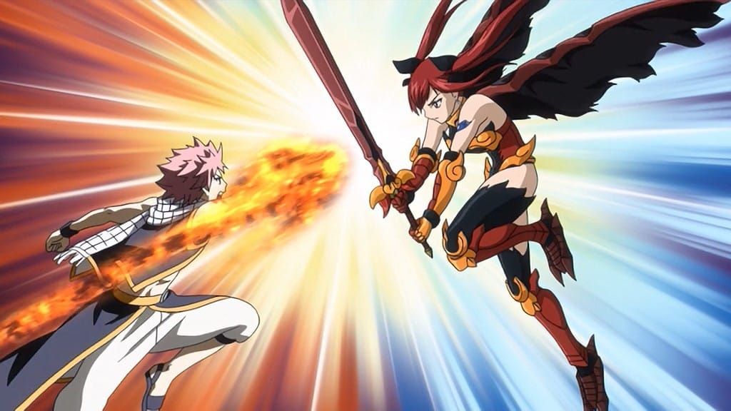 Fairy Tail Season 1 :Episode 10  Natsu vs. Erza