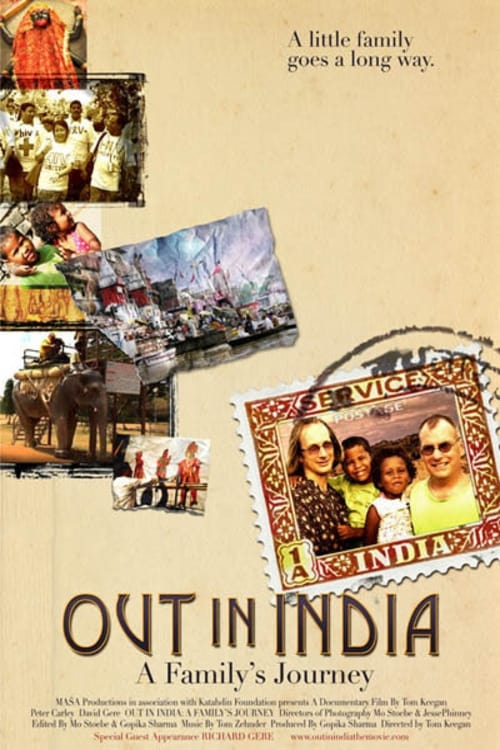 Ver Out in India: A Family's Journey Online HD Español (2008)