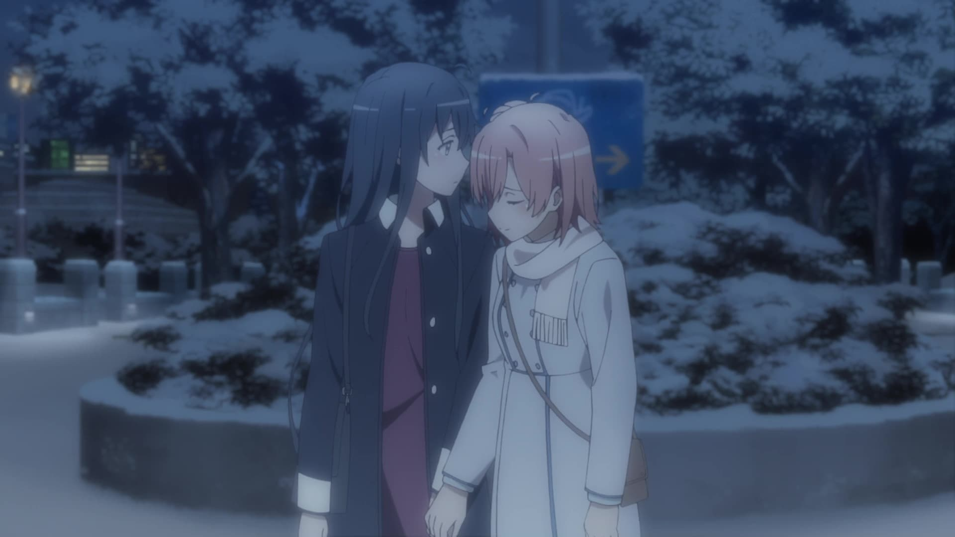 My Teen Romantic Comedy SNAFU Season 3 :Episode 1  In Due Time, the Seasons Change and the Snow Melts